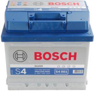 Recenze autobaterie Bosch S4 44Ah