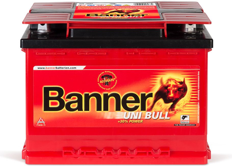 Recenze Banner Uni Bull 12V 69Ah 520A