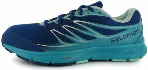 Recenze Salomon Sense Link Ladies Trail Running Shoes Teal Blue