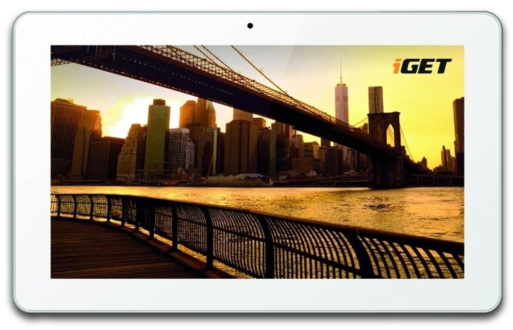 Recenze tabletu iGet Smart S100