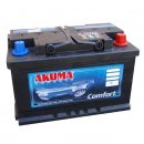 Autobaterie Akuma Komfort 12V 74Ah 640A