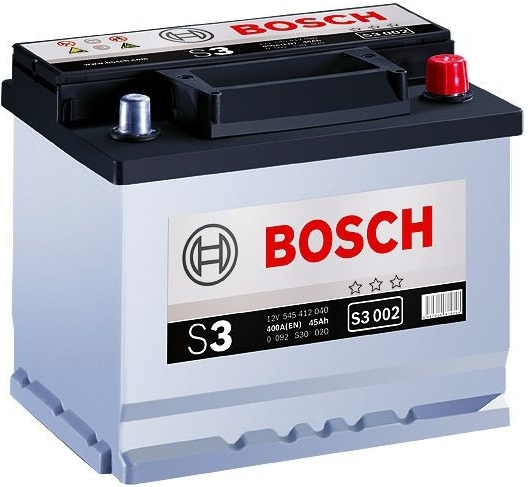 Autobaterie Bosch S3 12V 45Ah 400A