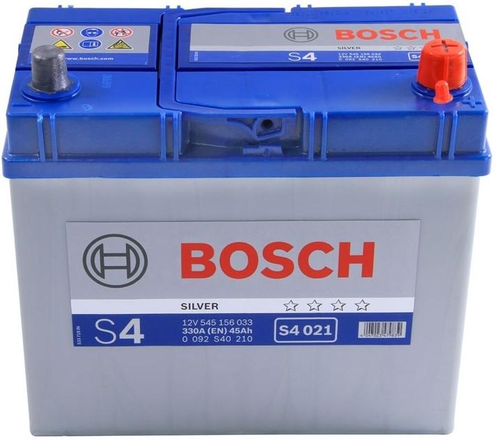 Autobaterie Bosch S4 12V 45Ah 330A