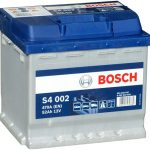 Autobaterie Bosch S4 12V 52Ah 470A