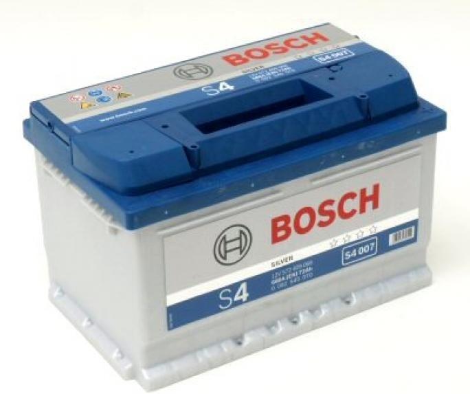 Autobaterie Bosch S4 12V 60Ah 540A
