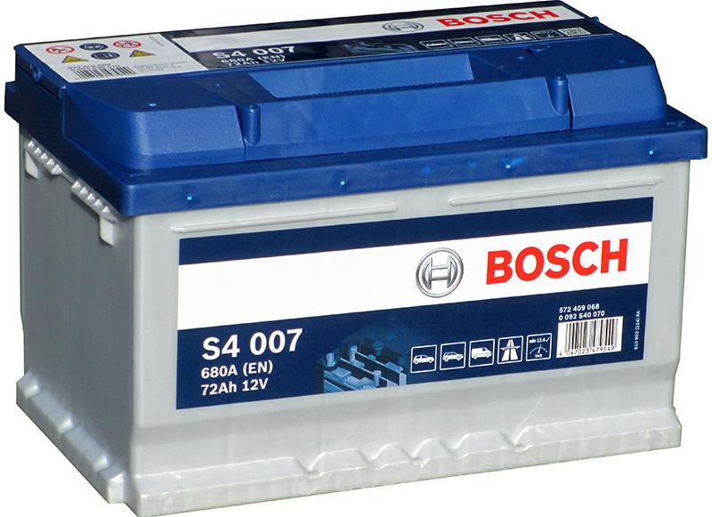 Autobaterie Bosch S4 12V 72Ah 680A
