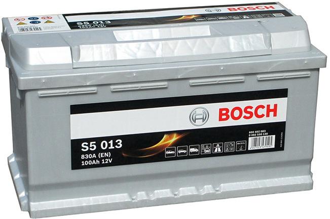 Autobaterie Bosch S5 12V 100Ah 830A