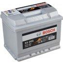 Autobaterie Bosch S5 12V 63Ah 610A