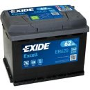 Autobaterie Exide Excell 12V 62Ah 540A