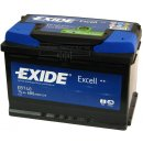 Autobaterie Exide Excell 12V 74Ah 680A