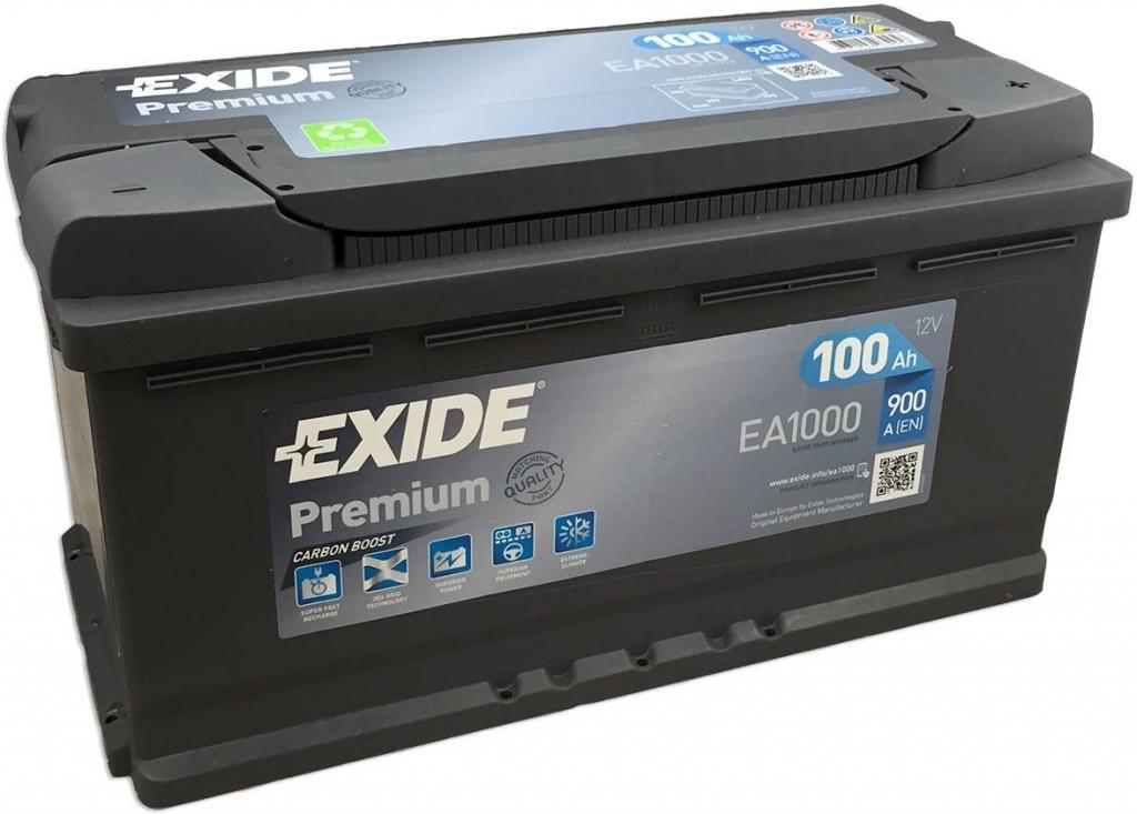 Autobaterie Exide Premium 12V 100Ah 900A