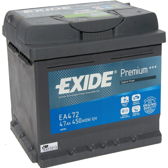 Autobaterie Exide Premium 12V 47Ah 450A