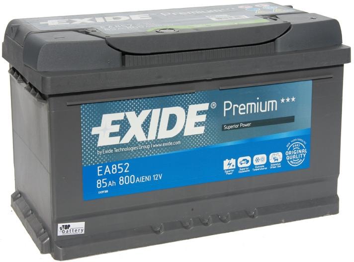 Autobaterie Exide Premium 12V 85Ah 800A