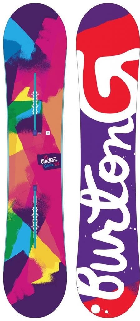 Dámský snowboard Burton Genie