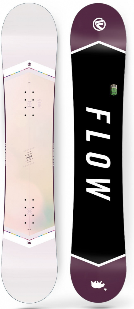 Dámský snowboard Flow Venus white