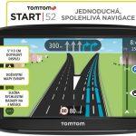 Navigace TomTom Start 52 Evropa Lifetime