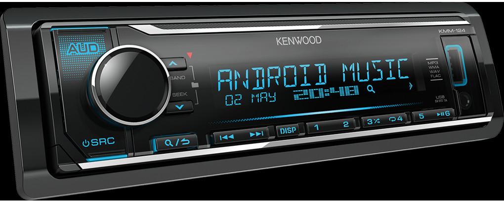 Autorádio Kenwood KMM-124