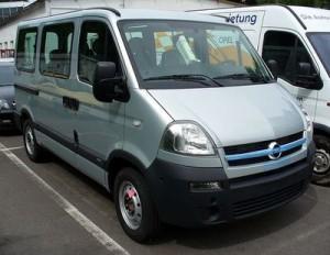 Autobaterie Opel Movano