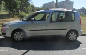 Autobaterie Škoda Roomster