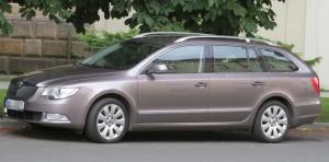 Autobaterie Škoda Superb