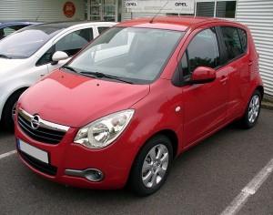 Autobaterie Opel Agila