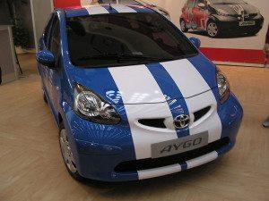 Autobaterie Toyota Aygo