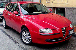 Střešní nosič Alfa Romeo 147
