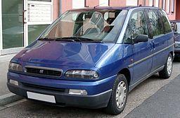 Střešní nosič Fiat Ulysse