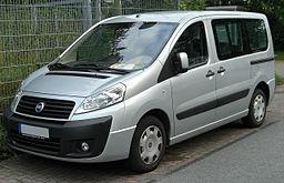 Střešní nosič Fiat Scudo
