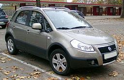 Střešní nosič Fiat Sedici