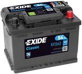 Exide Classic 12V 54Ah 500A