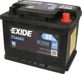 Exide Classic 12V 55Ah 460A