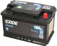 Exide Classic 12V 65Ah 540A