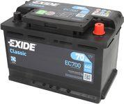 Exide Classic 12V 70Ah 640A