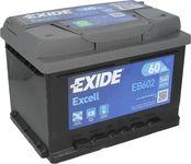 Exide Excell 12V 60Ah 540A