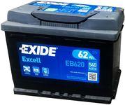 Exide Excell 12V 62Ah 540A