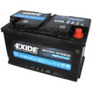 Exide Micro-hybrid AGM 12V 80Ah 800A
