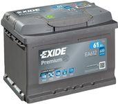 Exide Premium 12V 61Ah 600A