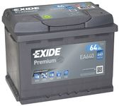 Exide Premium 12V 64Ah 640A