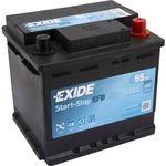 Exide Start-Stop EFB 12V 55Ah 480A